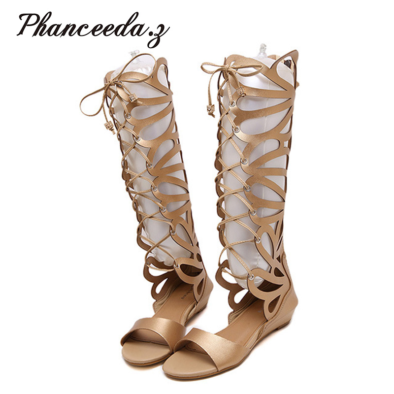 New 2017 Summer Style Shoes Women Sandals Rome Beach Gladiator Flats Top Quality Basic Sandal Sexy Slippers Wedge F<br>