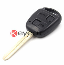 KEYECU BRAND NEW Remote Key(Part# 50171) 2 Button 433MHz For Toyota With 4D67 Chip(China)