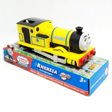 x138 Electric Thomas and friend Trackmaster motorized train engine children toys gift packing yellow Rheneas