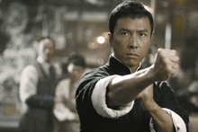 MAN martial arts Ip Man Donnie Yen cloth silk art wall poster and prints