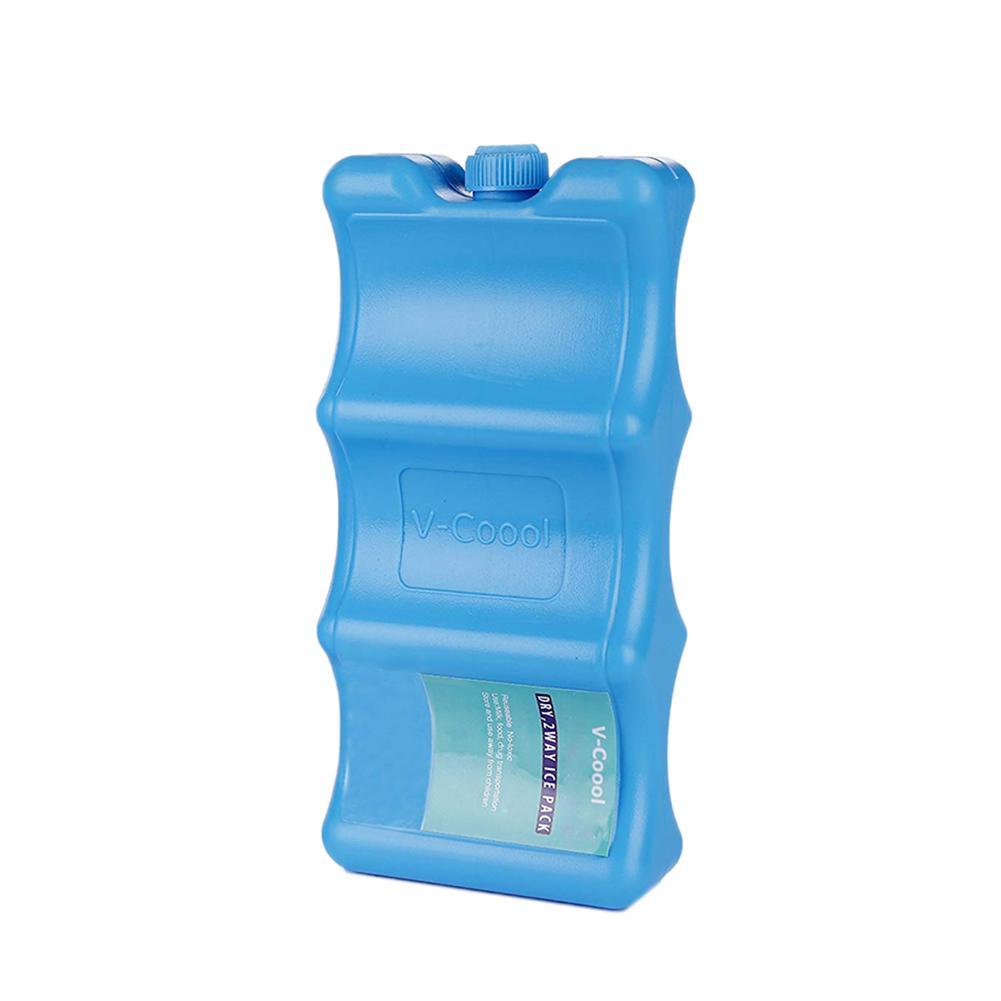 Set of 3 Pink Mini Ice Brick Pack Block Blocks Freezer Cooler Bag Box Travel Picnic