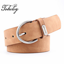Buy 2018 Fashion PU leather women belt Leisure time style Female Belts metal pin buckle belts women Lady girdle for $6.70 in AliExpress store