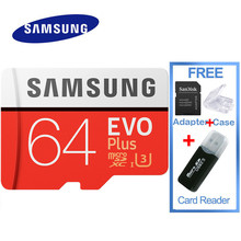 SAMSUNG EVO Plus Micro SD 32G Memory Card SDHC SDXC 100mb/s Grade U3 Class10 C10 UHS-I TF/SD Cards Trans Flash SDXC 64GB 128GB(China)