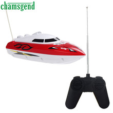 Chamsgend Hot 10 inch RC boat Radio Remote Control RTR Electric Dual Motor Toy SEP 04