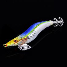 Fishing Shrimp Lure 3pcs/lot Size: 2g 7.5cm Fishing Swim Bait Artificial Tackle Lure With Hooks Squid Jigs Trout Lure
