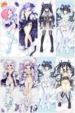 Japanese Anime Hyperdimension Neptunia Pillow Cover Case Hugging Body Bedding covers 150CM 160CM 100CM