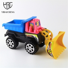 Inertial Truck  Toy Truck Back Of The Bulldozer Child Car Plastic Podel Multicolor Truck Cartoon Creative Gifts Birthday Gifts