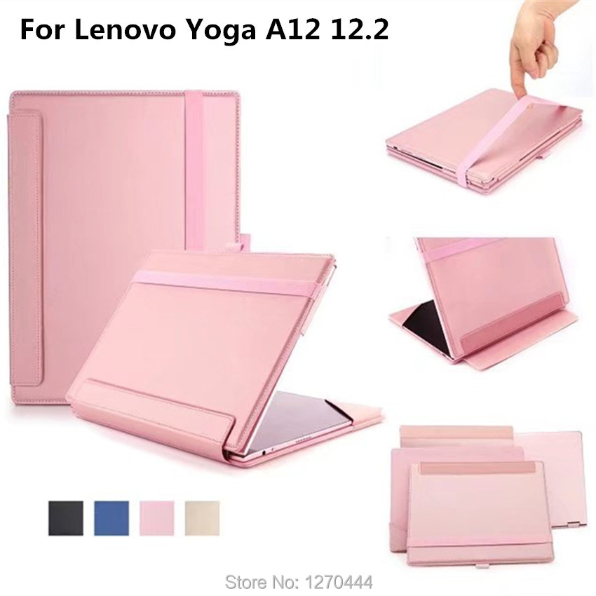Official Original 1:1 Yoga A12 12.2 Flip smart cases Stand protective Cover For Lenovo Yoga A12 12.2 tablets fundas cases <br>