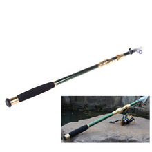 2.1M 6.89FT Portable Telescope Fishing Rod Fishing Pole 5-Sections  Travel Spinning Rod Pesca Fishing Gear