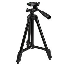Professional Flexible Camera Tripod Stand for Canon Nikon DSLR Digital Camera Camcorder Aluminum Tripods Black
