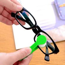 1 pcs Multifunctional multicolor portable glasses wipe spectacles cleaning glasses wiper cloth Clean Wipe Tools Free shipping