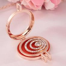 Bling-world Vintage Locket Essential Oil Diffuser Necklace And Pad Fragrance  Necklaces  AU31