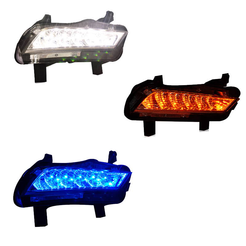 New Car Accessories LED DRL Daytime Running Lights Daylight Fog light LED fog lamp for Chevrolet Cruze 2015<br>