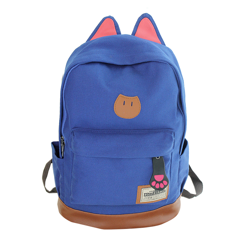 0cc9f3a20759 Detail Feedback Questions about Canvas Backpack For Women Girls ...