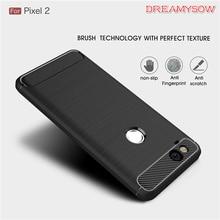 Brushed Carbon Fiber Case Google Pixel 2 2XL 3 XL case Luxury Slim Armor Soft Silicone Phone Back Cover Pixel 3XL Coque