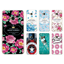 New Arrived Ample Flower Case For HTC ONE M7 801E Single Sim 801 / HTC One dual sim 802t 802w 802d Case Cover Fundas+Free Gift
