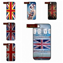 England British UK Union Jack Flag Phone Cases Cover For iPhone 4 4S 5 5S 5C SE 6 6S 7 Plus 4.7 5.5 A1120(China)