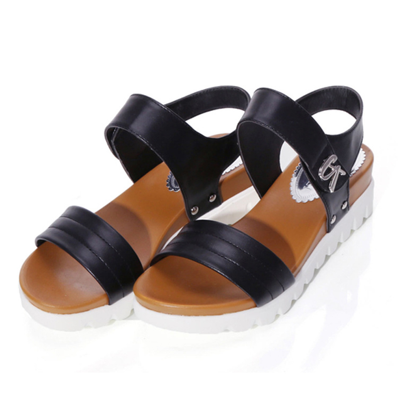 2017 New Women shoes Summer Women sandals Slip fish mouth flat shoes Roman sandals shoes woman sandalias mujer sandalias 17NX-20<br><br>Aliexpress