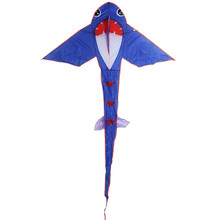 2.4m Carbon Steel Small Shark Style Flying Kite Toy children kites Funny Sports Toy Outdoor Playing Toys For Children Flying Toy