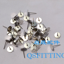 supply DIY fashion jewelry Accessory,earring pin,Rhodium Plated,earring fittings