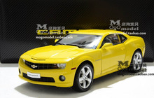 New Chevrolet CAMARO 1:18 car model original simulation alloy diecast collection gift Bumble Bee Need for Speed Fast & Furious