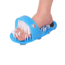 Bathroom Shoes Magic Stone Massage Bath Tool To Dead Skin Grinding Single Floor Feet Mat Anti-slip Strip Bathroom Set IC679343(China)