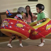 2017 Hot Sale New Kids Intex KA-POW Bumpers Tube Inflatable Body Bumper Ball Fun Indoor Outdoor Play Bump Toys