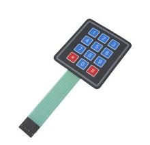 3*4 Matrix Array 12 Key Membrane Switch Keypad Keyboard 3*4 Control Panel Microprocessor Keyboard Controller for Arduino