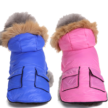 Buy Pet Dog Winter Clothes Warm Cotton Dog Coat Jackets Clothes Dogs Puppy Outfit Hooded Clothing Chihuahua Para 9T35 for $8.39 in AliExpress store