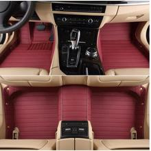 Good carpets! Custom special floor mats for Ford Mustang 2doors 2017 2016 2015 waterproof rugs durable carpets,Free shipping(China)