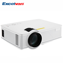 Excelvan GP-9 Projector Mini Home Theater 2000 Lumens 1920 x 1080 Pixels Multimedia HD LCD Portable Projector US / EU /UK PLUG