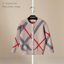 1-5Y baby boys sweaters kntting cardigan casual boys pullovers spring autumn winter kids boys clothing