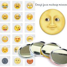 1 Pc Face Expression Cartoon Pocket Mirror Makeup Compact Mirrors Portable Mini Cosmetics Hand Mirror Beauty Make Up Tools Z3(China)