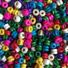 5*6MM 100pcs/lot Cheap DIY Hot Rounded Beads Wooden Beads Loose Beads for Jewelry Making Bracelet Necklace Accessories Wholesale