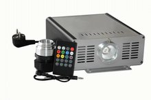 45W music/sound controlled LED RGB Optical Fiber light engine with 20Key remote
