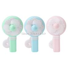 Portable Kids Toys Manual Hand Mini Fan Handheld Cooler Cooling Fan No Battery #R179T#Drop Shipping