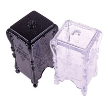 Storage Box Makeup Cotton Pad Cosmetic Organizer Jewelry Case Storage Box Holder Butterfly #48095