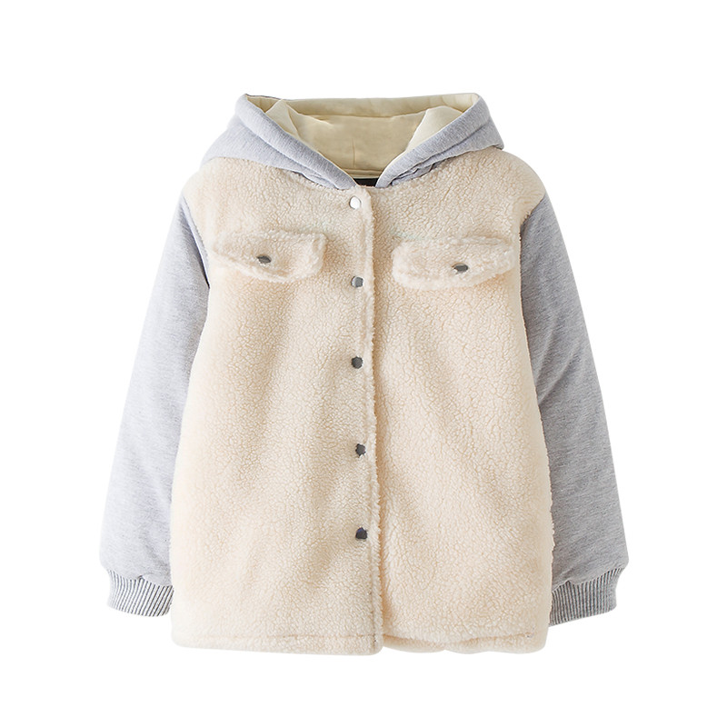 6 to 16 years kids &amp; teenager big girls hooded warm fleece qulited parkas jacket &amp; coat children winter fashion outwear clothes<br>