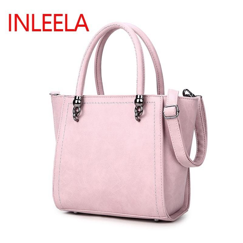 Inleela Nubuck Leather  Women Handbag Fashion Women Shoulder Bag High Quality Women Messenger Bag Medium Women Tote Bag<br><br>Aliexpress