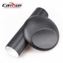 200X50 CM 3D carbon fiber vinyl film/ carbon fibre sticker (78.7X19.7)--10 color option FREESHIPPING car sticker 3D carbon wrap