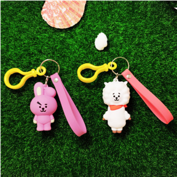 Jkela proof Youth League surrounding bt21 Key buckle