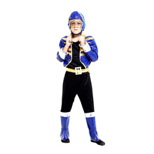 Children Halloween American football Costumes Kids Boys commando Cosplay Holiday Festival parade masked ball Masquerade dress