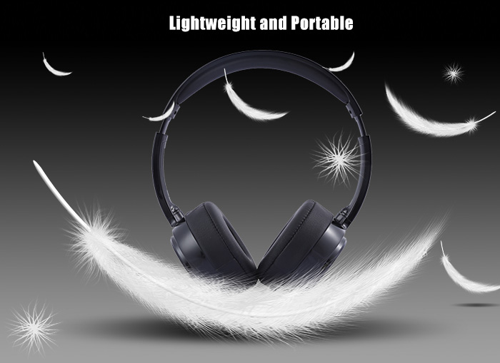 ALBK 303B Wireless Bluetooth 4.0 Music Headband Headphones Volume Control Hifi Super Bass Hand Free Headset Mic for iPhone PC