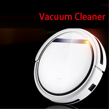 JIQI Intelligent Robot Vacuum Cleaner Home Slim HEPA Filter Cliff Sensor Remote control mopping sweeper Self Charge dust catcher(China)
