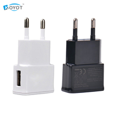 2PCS/LOT EU plug Adapter 5V 2A EU USB Wall Charger Mobile phone charger For Galaxy S5 Note4 N9000 mobile phone charger