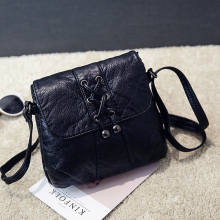Fashion Mini Crossbody Bags Women's Flap Black Bag Handbag PU Sac a Main Femme Ladies Messager Bag Long Strap Female Clutch