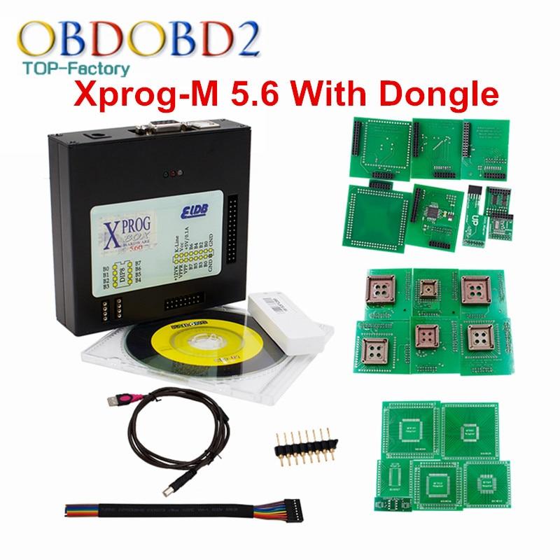 XPROG-M V5.60 With USB Dongle Xprog M V5.6 ECU Chip Tuning Tool X-Prog M Box 5.6 ECU Programmer Excellent Metal Chips<br><br>Aliexpress