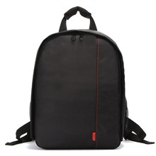 Dslr Camera Bag Camera Backpack Multi-Functional Mochila Fotografia Waterproof Double Shoulder Video Case Nikon Canon(China)