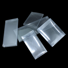 30Pcs/ Lot Transparent Plastic Box for Favor Party Small Gift Packaging Pen Display Clear PVC Boxes Business Card Box Supplies