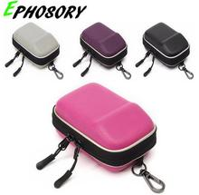 Hard Shock Resistant Compact Digital Camera Case Double Zipper Protective Bag Pouch For NIKON COOLPIX Camera
